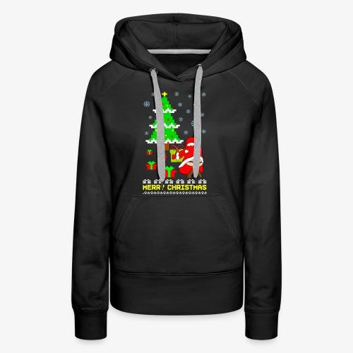 Merry Christmas Santa Tanga Ugly Xmas - Frauen Premium Hoodie