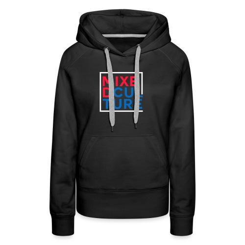 Mixed Culture Box White - Vrouwen Premium hoodie