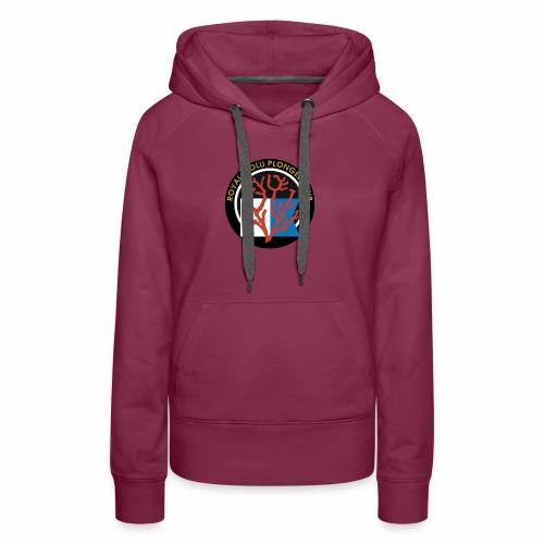 Royal Wolu Plongée Club - Sweat-shirt à capuche Premium pour femmes