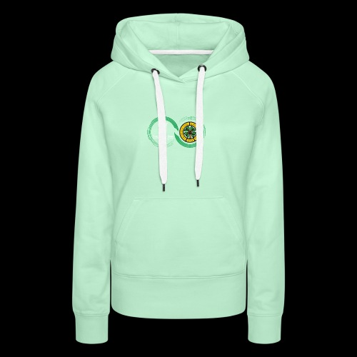 Harp and French CSC logo - Sweat-shirt à capuche Premium pour femmes