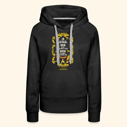 coole Geschenkidee: lustiges Grillsprüche-Shirt - Frauen Premium Hoodie