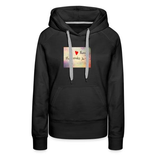 liefdes t-shirts - Vrouwen Premium hoodie