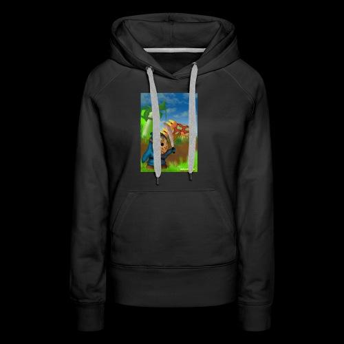 SuperMario: Not so shy guy - Vrouwen Premium hoodie