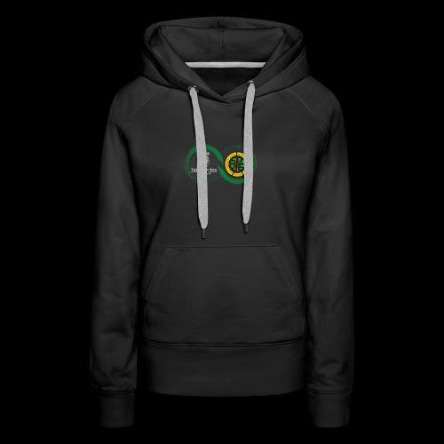 Harp and French CSC logo - Sweat-shirt à capuche Premium pour femmes