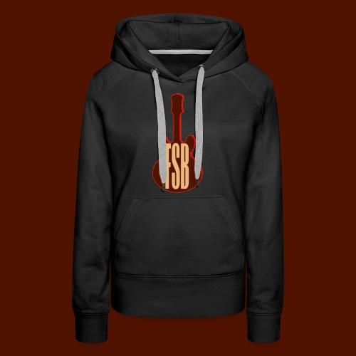 FSB Guitar Logo - Women's Premium Hoodie