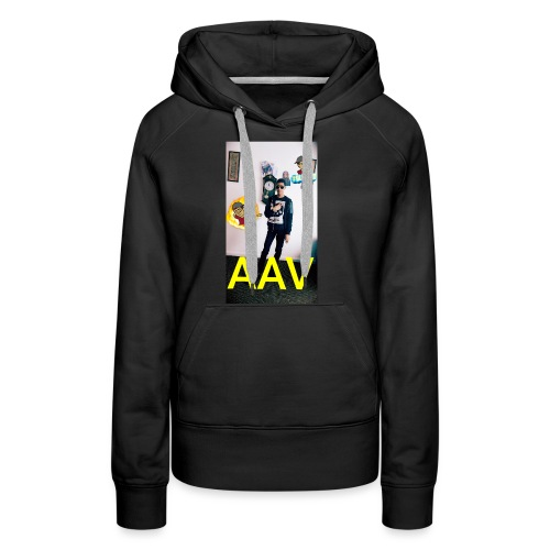 Adam Ali Vlogs Design 1 - Women's Premium Hoodie