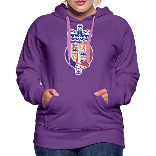 British Seal Pixellamb - Frauen Premium Hoodie