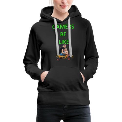 KrestenDesign #1 - Dame Premium hættetrøje