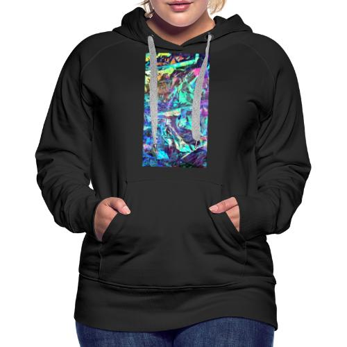 Pure Chaos - Sudadera con capucha premium para mujer