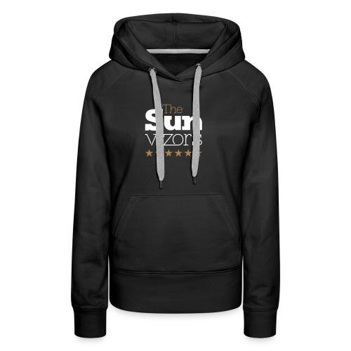 Marquage logo_TheSunvizors - Sweat-shirt à capuche Premium pour femmes