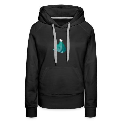 nounours png - Sweat-shirt à capuche Premium pour femmes