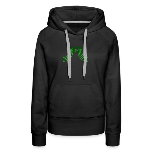DIRT Logo - Frauen Premium Hoodie