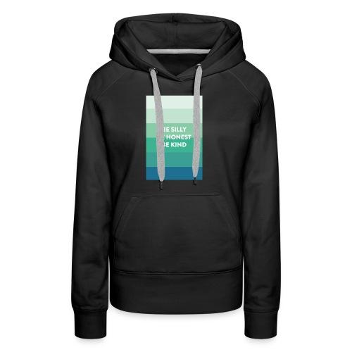 motivation t-shirt - Sweat-shirt à capuche Premium pour femmes