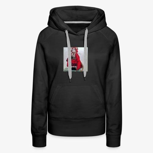 chaperon - Sweat-shirt à capuche Premium pour femmes