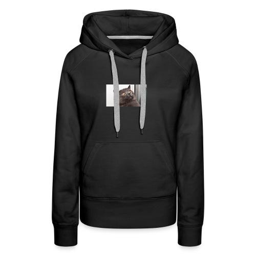 Funny cat tshirt - Women's Premium Hoodie