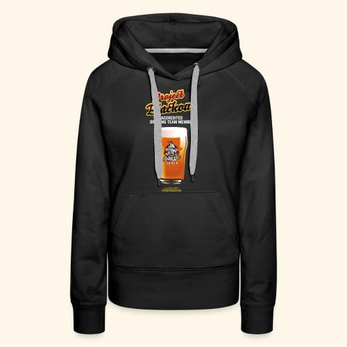 Drinking Shirt Project Blackout - Frauen Premium Hoodie