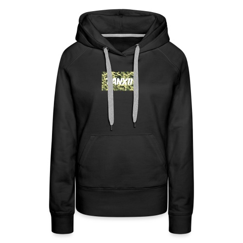 Camo Logo - Women's Premium Hoodie