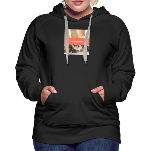 drengene hoodie - Dame Premium hættetrøje