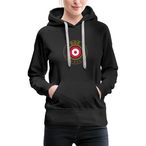 BGE in Österreich mit Fahne - Frauen Premium Hoodie