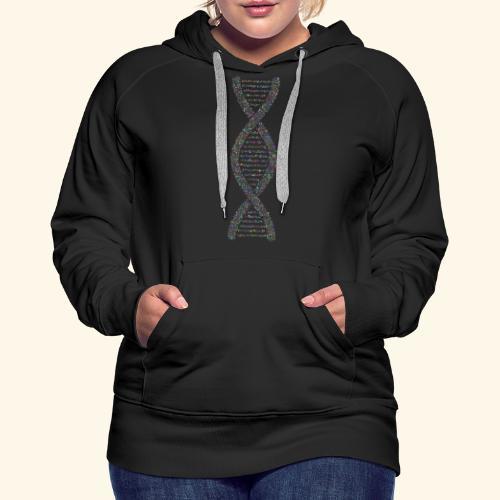 DNA - Sweat-shirt à capuche Premium pour femmes