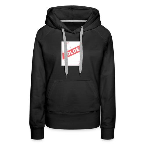 soldé - Sweat-shirt à capuche Premium pour femmes