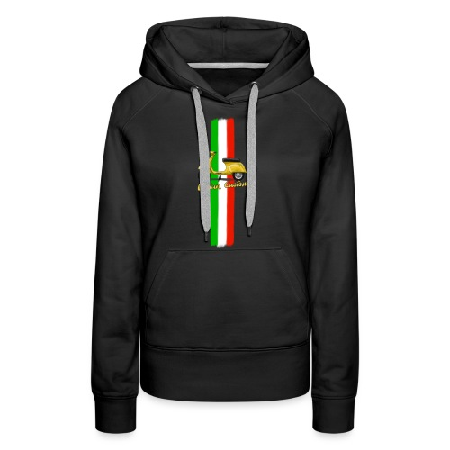 Italian Custom V0l.2.png - Frauen Premium Hoodie