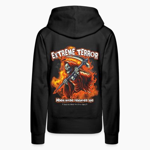 Extreme Terror - Women's Premium Hoodie