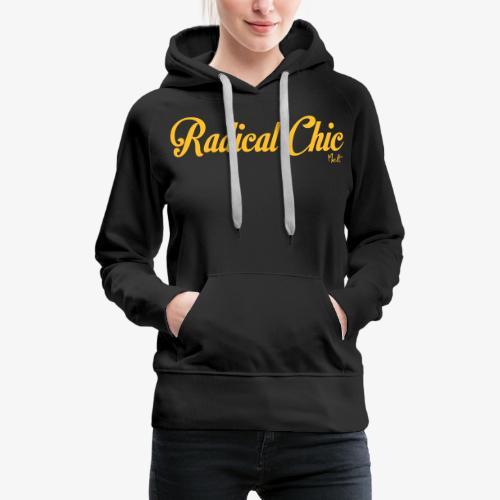 radical chic - Felpa con cappuccio premium da donna