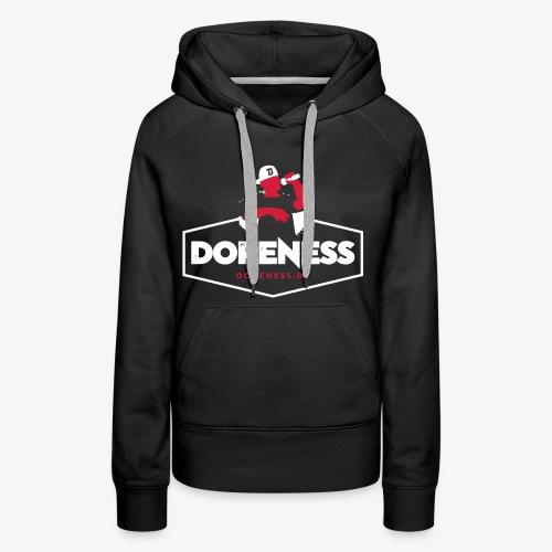 DOPENESS LOGO 1 - Vrouwen Premium hoodie