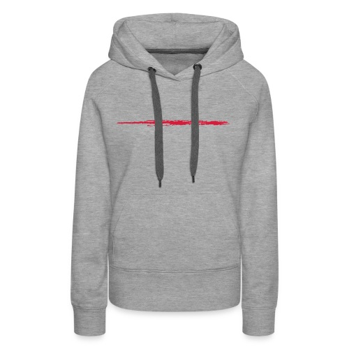 Linie_01 - Frauen Premium Hoodie