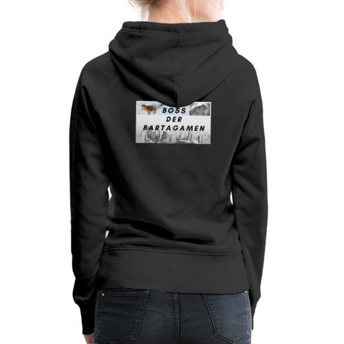 Boss der Bartagamen Hoodie Kollektion - beidseitig - Frauen Premium Hoodie