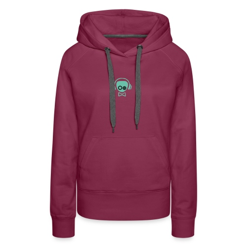 Gamer Design - Dame Premium hættetrøje
