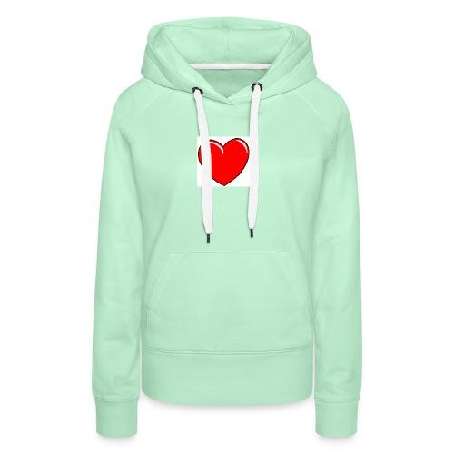 Love shirts - Vrouwen Premium hoodie