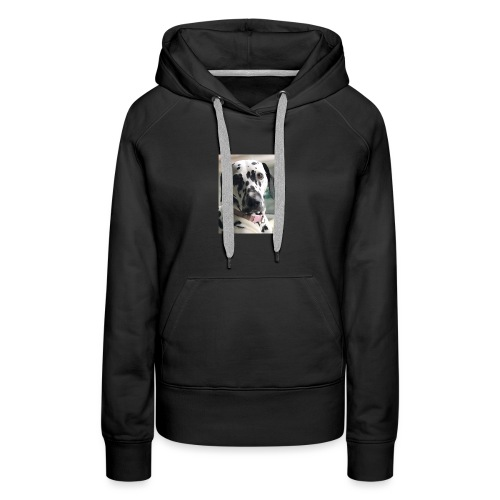 Dalmatian Daisy Dog - Women's Premium Hoodie