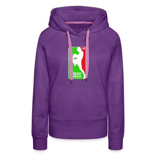 boxe italiana - Women's Premium Hoodie