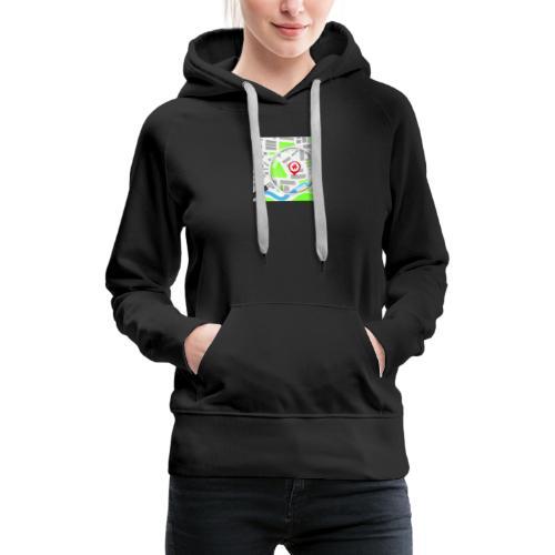 grunddata - Dame Premium hættetrøje