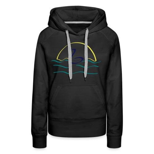 Swan - Vrouwen Premium hoodie