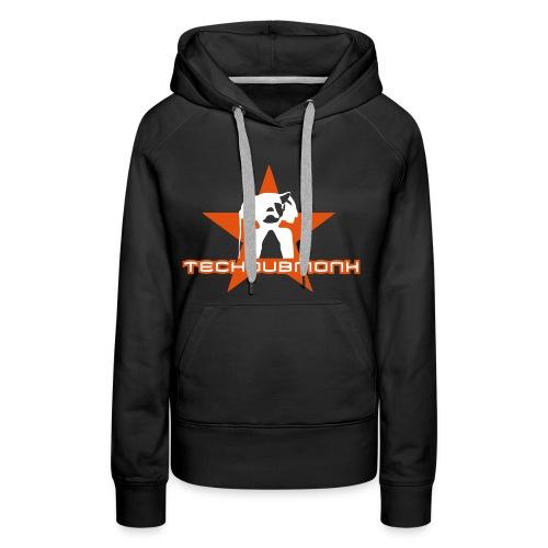 logo techdubmonk - Frauen Premium Hoodie