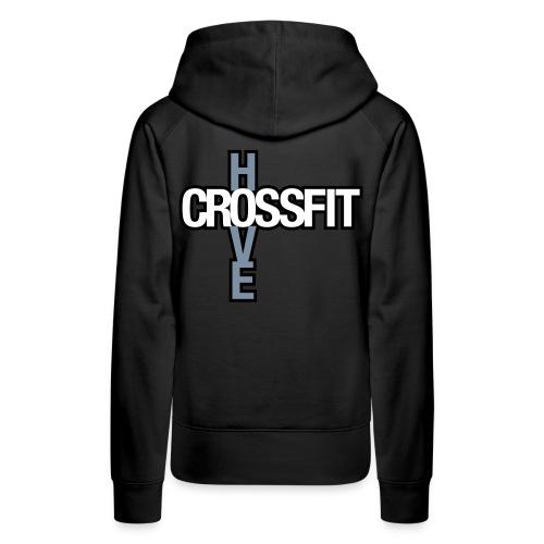 crossfithove logo - Women's Premium Hoodie