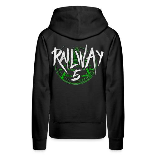 Railway 5 Logo Color - Frauen Premium Hoodie