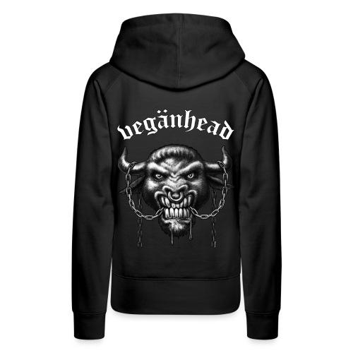 Veganhead - Frauen Premium Hoodie