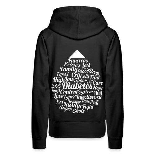 CURE DIABETES - Women's Premium Hoodie