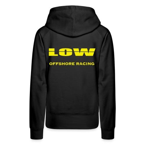 low_logo_offshore - Naisten premium-huppari