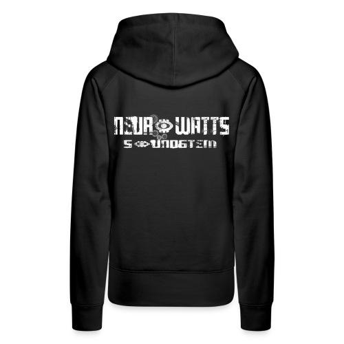 Neurowatts - Sweat-shirt à capuche Premium pour femmes