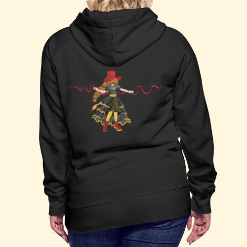 Ladybird - La célèbre uchronaute - Sweat-shirt à capuche Premium pour femmes