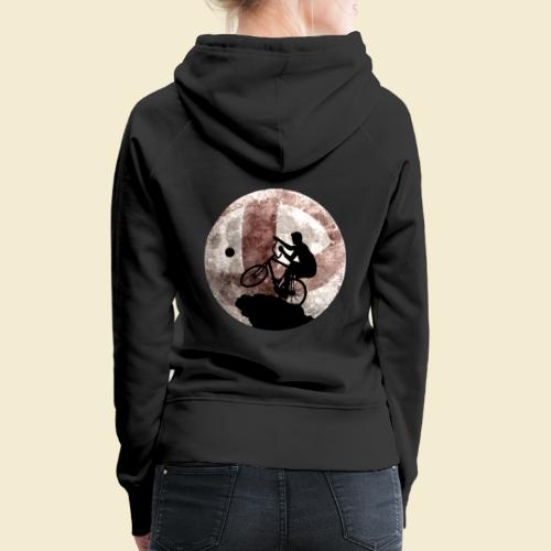 Radball | Cycle Ball Moon - Frauen Premium Hoodie