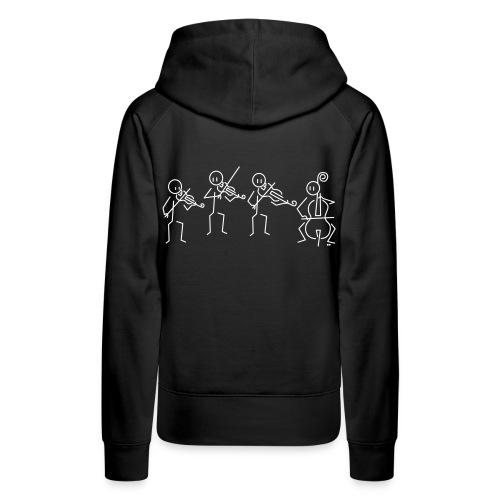 String quartet - Women's Premium Hoodie