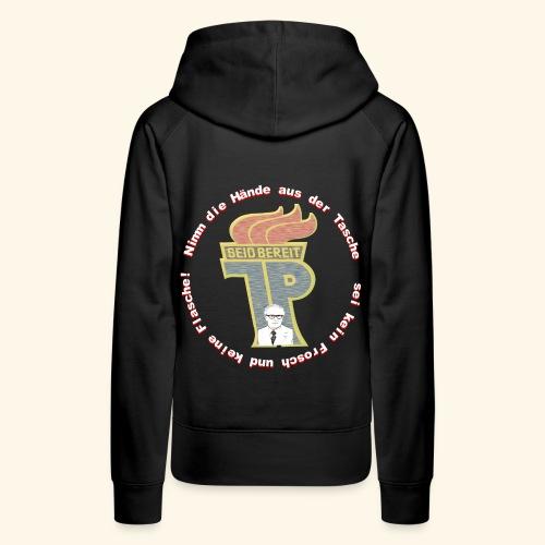Pionier DDR Honecker Shirt Geschenk Idee - Frauen Premium Hoodie
