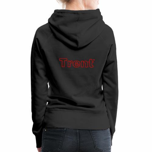 TRENT classic red - Women's Premium Hoodie