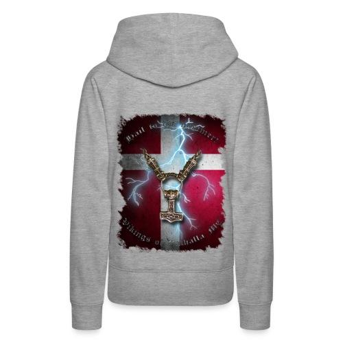 Vikings ærme vector - Dame Premium hættetrøje